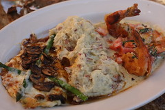 shrimp scampi & chicken madeira combo (deb1edeb) Tags: family chicken canon restaurant shrimp mashedpotatoes fooddrink mothersday cheesecakefactory chulavista ef50mmf14usm otayranchtowncenter eos40d