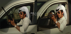 Part 2 ( MR.LoNeLy  Back) Tags: white sunglasses mr hunting mohammed weapon lonely shooter  mrlonely    m7med