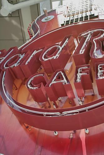 今日のランチはここに決めた! / Hard Rock CAFE Yokohama