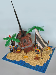 Shipwreck Island (_Matn) Tags: fish canon monkey photo sand ship lego pirates crab shipwreck palmtree survival cutlass foitsop
