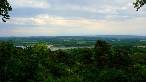Blick vom Pimpinellenberg nach Oderberg 21.5.09