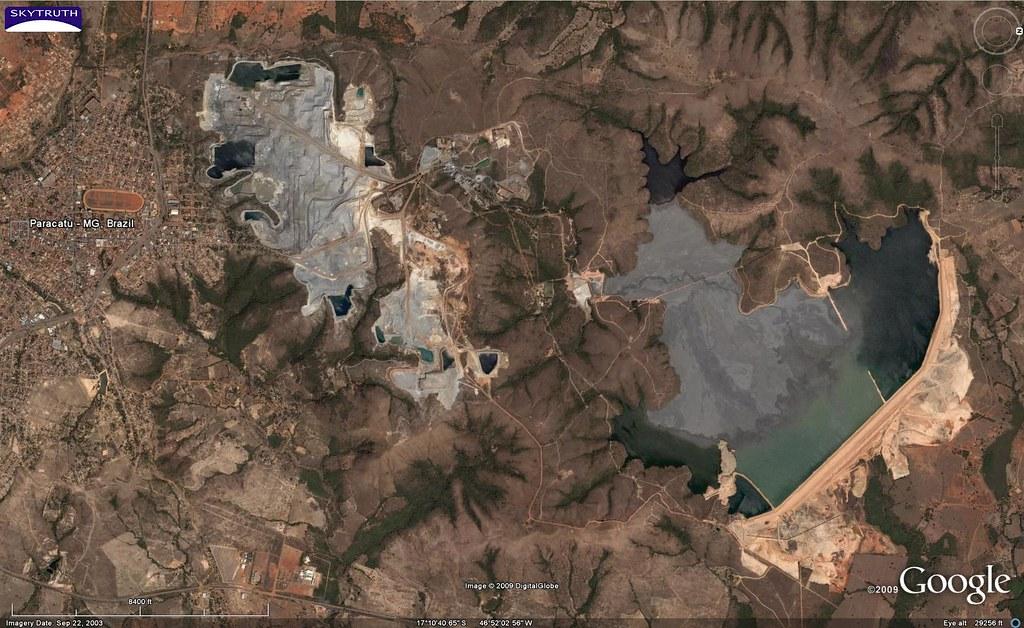 Morro do Ouro Gold Mine, Paracatu, Brazil - Overview