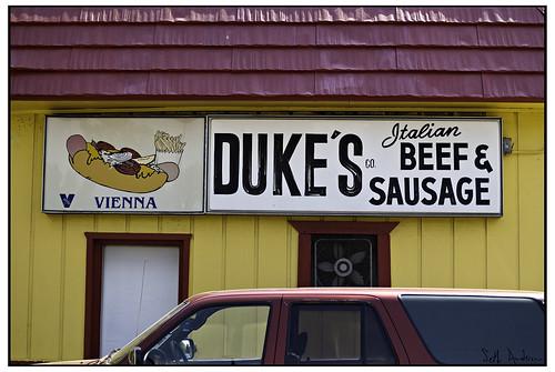 Duke's Co Italian Beef and Sausage
