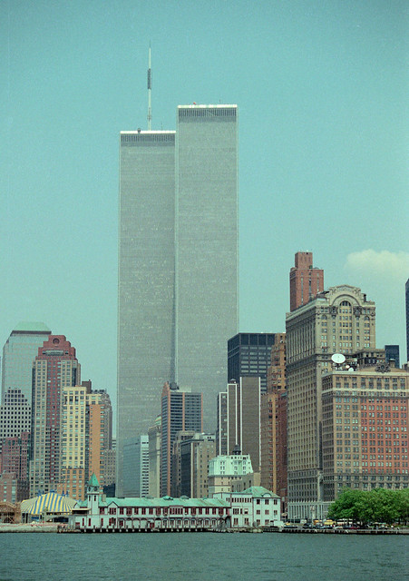 1995 New York Twin Towers World Trade Centre Center