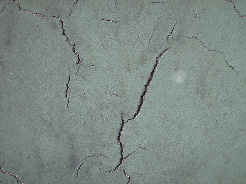 Cracks from Tennis Court - #11
