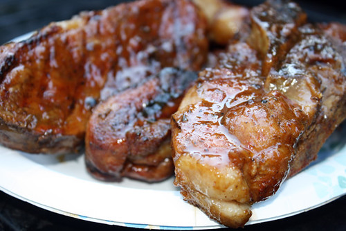 Country Ribs with Beer and Mustard Glaze 24