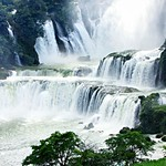 Waterfall, Guangxi, China 廣西南寧德天瀑布