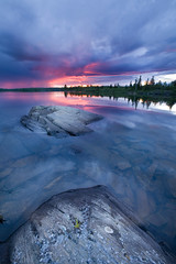 At It's Best (taylorphotography) Tags: blue sunset lake reflection water clouds canon landscape sigma wideangle canon5d boundarywaters 14mm ensignlake absolutelystunningscapes mtrtrophyshot