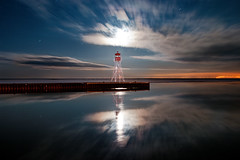 K20D0171 (Bob West) Tags: longexposure nightphotography moon lighthouse night clouds lakeerie greatlakes moonlight nightshots startrails erieau southwestontario bobwest sigma24mm k20d eastlighthouseerieau gaju2810