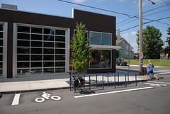 new bike corrals on N. Williams-2
