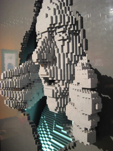 LEGO Brick Art by Nathan Sawaya