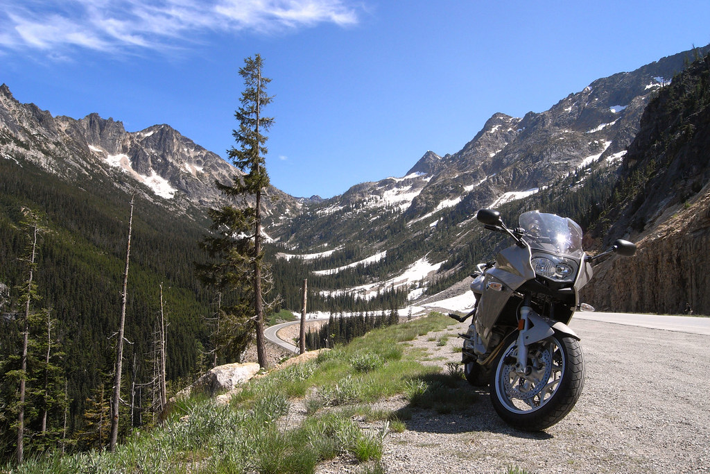 F800ST at Washington Pass
