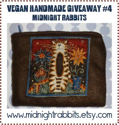 Vegan Handmade Giveaway #4 - July 1, 2009