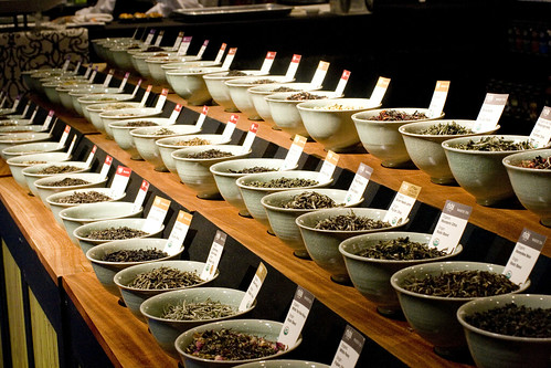 rishi teas display