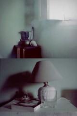(A M A T E U R A M A) Tags: window lamp book interiors libro skyblue lmpara celeste amateuramainteriores