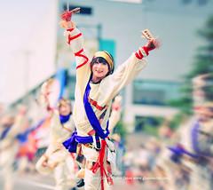 Yosakoi Dance. (Hirosaki Japan). © Glenn Waters. Over 41,000 visits to this photo.  Thank you. (Glenn Waters ぐれんin Japan.) Tags: street carnival winter summer music woman blur beautiful fashion festival japan lady asian japanese tokyo dance nikon action bokeh f14 stunning aomori kimono hirosaki 夏 matsuri japon yosakoi 着物 祭り 弘前 8514 よさこい ニコン nikkor85mmf14d nikkor85mm14d d700 nikond700 ぐれん glennwaters nikkor85mmf14datf14