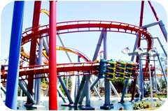 Silver Bullet (Josué Pineda) Tags: park city usa silver la los berry angeles farm samsung scream roller theme bullet coaster boomerang supreme knotts ghostrider xcelerator nv3