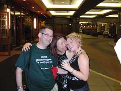 Karl, Anissa, Britt (avitable) Tags: anissa karl blogher missbritt avitable blogher09