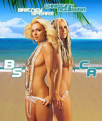 BRIT Y CHRIS!! (BETHGON blends) Tags: princess spears christina pop princesa britney xtina aguilera blend bethgon