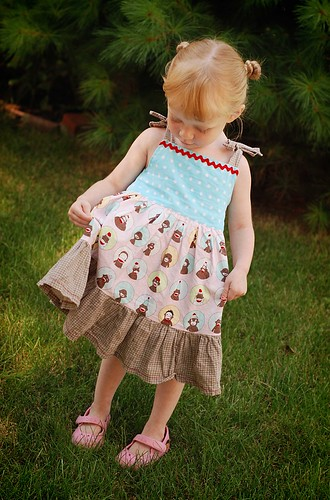 monkey dress for {E} by you.