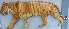 Tiger (vwatts45) Tags: wood art nature cat mural mosaic tiger wallart decor intarsia woodcraft marquetry inlay walldecor woodinlay