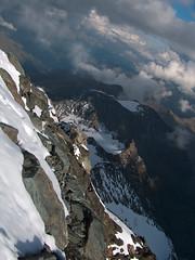 view back on the trail (atralux) Tags: österreich alpine alpen austia grossglockner 3798m
