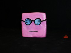 square (almost finished) (mikaplexus) Tags: pink sculpture art me myself square toy toys michael paint cartoon clay custom mika limited cartoons hahaha theman mds yourfriend plexus michaelstewart ireallylike mikaplexus 12ouncemouse twelveouncemouse michaelduanestewart mestuffs