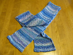 Finished Skye Scarf