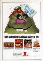 Luden's Halloween candy ad
