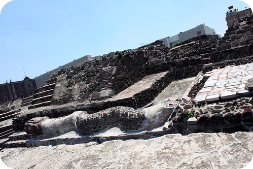 zocolo -Aztec Temple ruins, Temple Mayor by you.