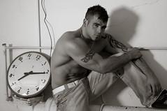 Dan (jonxyz) Tags: portrait man tattoo model shadows muscle tribal tattoos bodybuilder mma