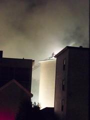Smoke (Sam T (samm4mrox)) Tags: morning fire chaos smoke maine disaster damage unexpected firefighters lewiston disasters kodakz8612