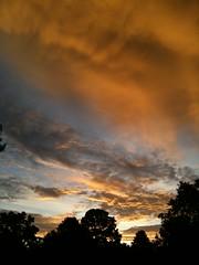 Dramatic Skies in Pittsford, NY (Jennifer Kumar) Tags: morning newyork color nature weather sunrise skies pittsford monroecountyalaivaniseptember2009 dailylifeinrochesterny