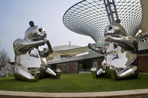 2010年上海世博会世博轴雕塑长廊国际雕塑展
