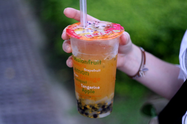 bubble tea...