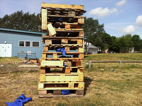 Pallet Tower by mdx