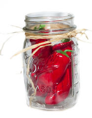 Hot'n Spicy (Daniel C Bentley) Tags: red food hot ball mason jar peppers spicy chilipepper redchilipepper