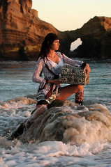 Treasure Island (Alexandria LaNier) Tags: beach girl beautiful island treasure pirates brunette alexandrialanier