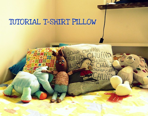 TUTORIAL T-SHIRT PILLOW