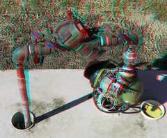Pipes (Anaglyph 3D) (patrick.swinnea) Tags: stereoscopic 3d pipes anaglyph