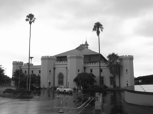 Dismal weather at the Conservatorium