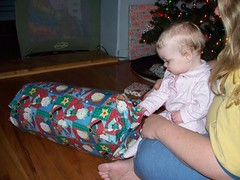Opening Presents 1 (Ludeman99) Tags: sarah eowynlouisebitner