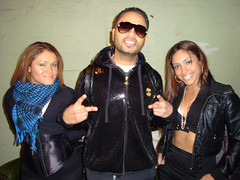 Octavio Rivera Jr. with dancers