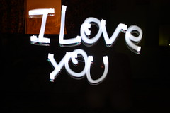 I Love You ( EXPLoRED ) (AlAmmari) Tags: light cars love night canon lights nokia moving bahrain you air romance explore u romantic juffair manama trafic beutiful guage   n95  streem  alammari i      d450   95  hawaalrayyanfav