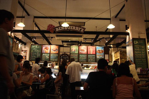 clickandrender.blogspot.com: Ben & Jerry's, Singapore
