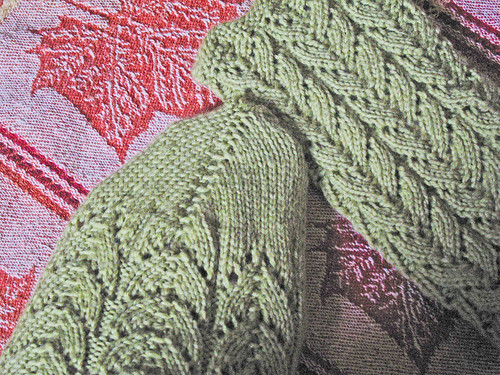 Green Lace Socks 4