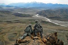 [フリー画像] [戦争写真] [兵士/ソルジャー] [人物写真] [アフガニスタン風景]       [フリー素材]