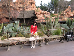 Thunder Mountain ( Cateaclysmic ) Tags: california street usa baby white snow castle fashion japan fairytale america stars japanese shine bright disneyland magic disney lolita mickeymouse apples annaheim btssb farytales