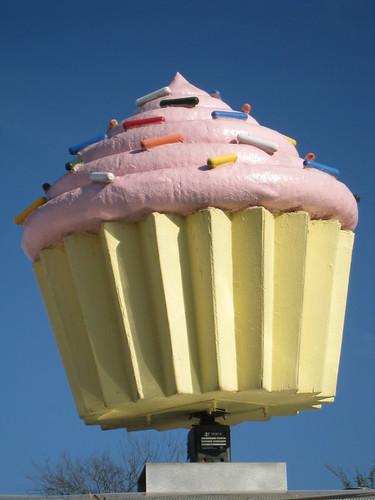 Rotating Cupcake