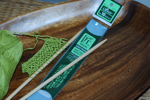 Clover Bamboo Knitting needles by you.